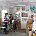 Kreativ im Atelier